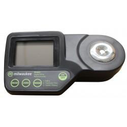 Refraktometer Digital+KofferMILWAUKEE MA8850 - 230° Oe / 0 - 50 % Brix