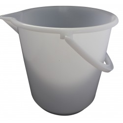 Messeimer aus Kunststoff17 Liter mit Bodenreifen