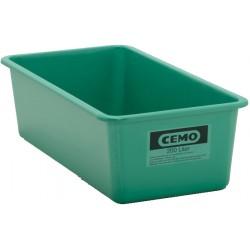 Stande / Rechteckbehälter GFK grün, 200 l flach CEMO
