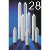 Endfilterkerzen: Adapter P28 (Sartorius)
